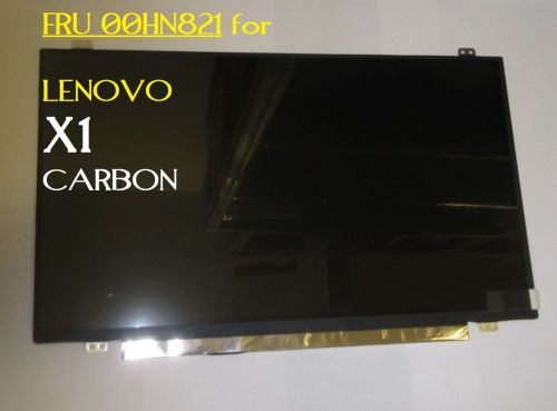 "LENOVO FRU 00HN821 14"" LCD DISPLAY SCREEN FOR X1 CARBON"