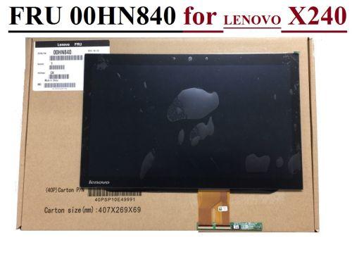 New Genuine Lenovo Thinkpad X240 HD LCD Touch Screen W/Bezel 00HN840