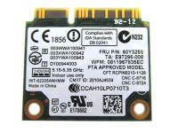 INTEL CENTRINO ADVANCED-N 6205 WIRELESS PCI EXPRESS HALF HEIGHT MINI-CARD FOR LENOVO THINKPAD