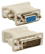 DVI-I (24+1) Male to VGA 15Pins Female Converter Adaptor, connector, Adapter