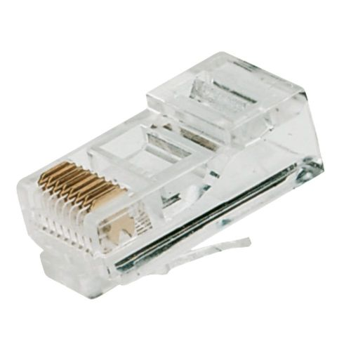 RJ45 PLUG CONNECTORS SET OF 10 - HIGH QUALITY