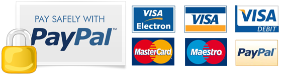 Pay Securely Using Paypal - No need to be Paypal Account Holder
